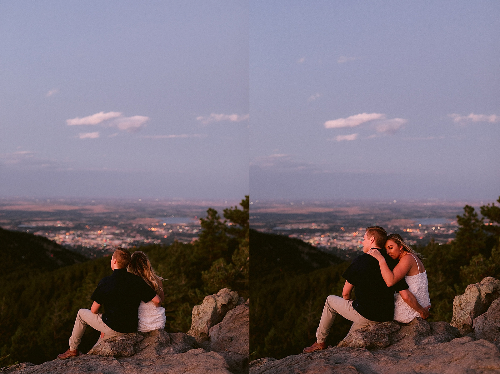 Colorado Engagement Photos at Lost Gulch Lookout by Matthew Speck Photography
