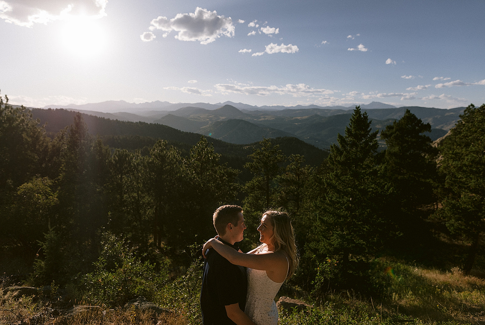 Lost Gulch Lookout Engagement Photography by Matthew Speck