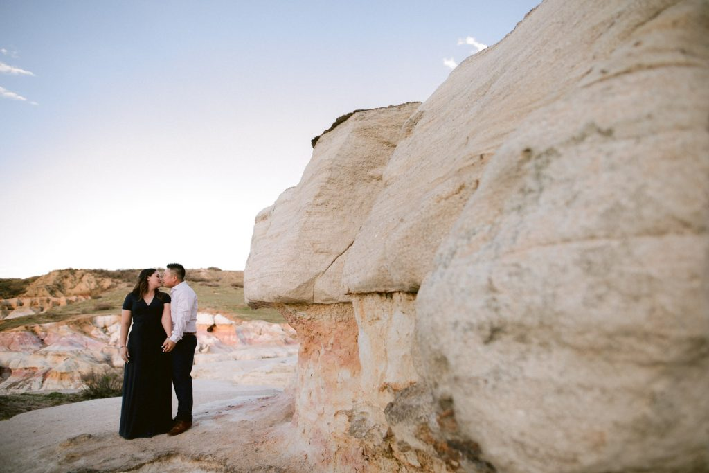 Paint Mines Colorado Engagement Photography by Matthew Speck